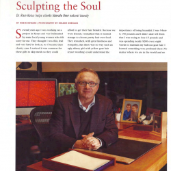 Dr. Ram Kalus Featured in 'Charleston Style & Design'